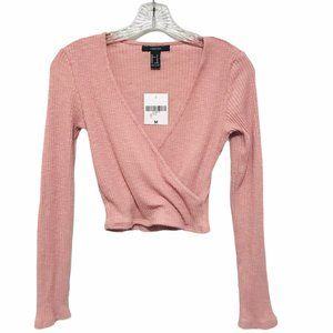 Forever 21 Cropped Sweater Top NWT